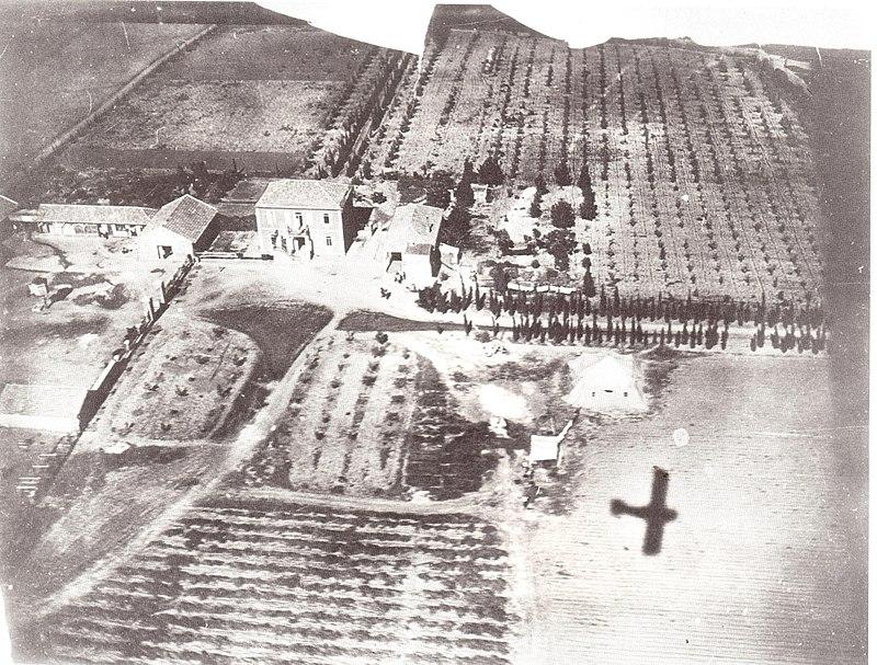 טיסת צילום מעל דגניה 1918