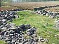 Pile of stones at the edge of Red Moss - geograph.org.uk - 421577.jpg