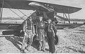 Piloci z tzw. trójki Bajana przed samolotem Avia BH-33 w Katowicach NAC 1-W-2737-6.jpg
