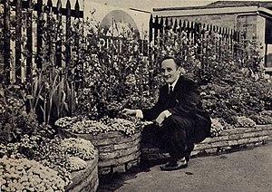 Pinner tube station - The gardens at Pinner station, London Underground Station Garden winner in 1966.