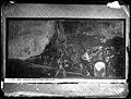 Pinturas Negras de Goya, Quinta de Goya, año 1874, fotografía de la pintura El Santo Oficio, por Juan Laurent, con iluminación eléctrica, VN-03193 P.jpg