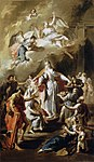 Pittoni, Giambattista - St Elizabeth Distributing Alms - 1734.jpg
