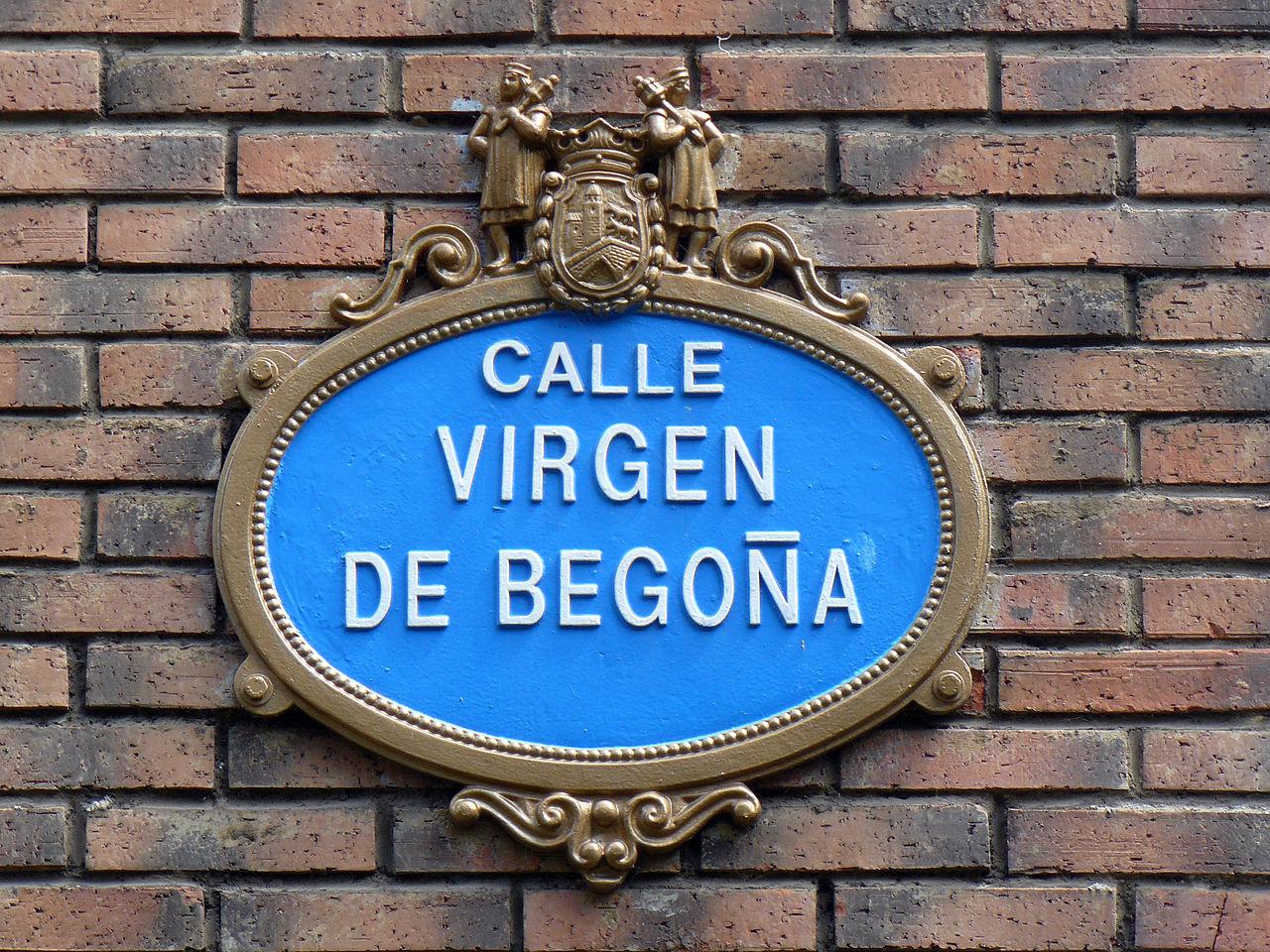 File Placa Calle Bilbao Jpg Wikimedia Commons