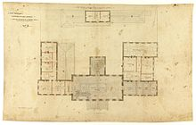 Henry Hunter's plans for Hobart Town Hall