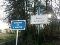 Plaques route chemin Amitié St Cyr Menthon 1.jpg