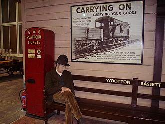 Museum of the Great Western Railway - Image: Platform scene
