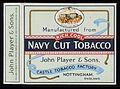 Player's Cigarettes packet(back) Wellcome L0040516.jpg