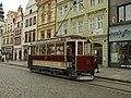 Plzeň, Náměstí Republiky, Křižíkova tramvaj II.JPG