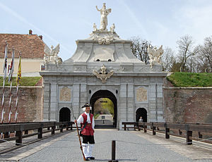 English: The 3rd gate of Alba Iulia fortress