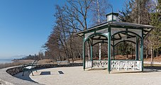 Poertschach Halbinselpromenade Landspitz Pavillon 21012016 0274.jpg