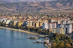 View of Pogradec