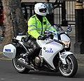 Police Honda Motorcycle (34145985622).jpg