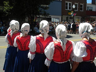 Whiting, Indiana - Polish Dancers at Pierogi Fest