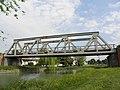 Ponte ferrovia Adria - Mestre, comune di Mira.JPG