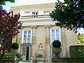 Pontoise (95), hôtel Le Vasseur de Verville ou de la Coutellerie, résidence du sous-préfet, 39 rue de la Coutellerie, façade ouest.jpg