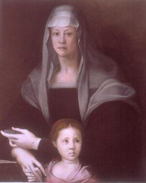 Maria Salviati - Image: Pontormo, Maria Salviati