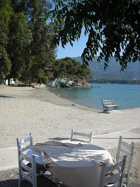 Poros Coastline in Greece