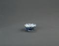 Porslin. Kopp med blå dekor - Hallwylska museet - 89163.tif