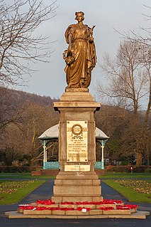 Port Talbot War Memorial Grade II* listed building in Neath Port Talbot County Borough.