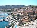Port et ville depuis la citadelle (Calvi) (4).jpg