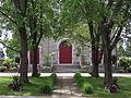 Portes avant de l'Église de Pont-Rouge - Pont-Rouge.JPG