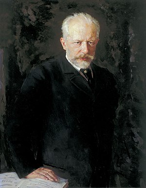 Pyotr Ilyich Tchaikovsky - Portrait of Pyotr Ilyich Tchaikovsky by Nikolai Kuznetsov