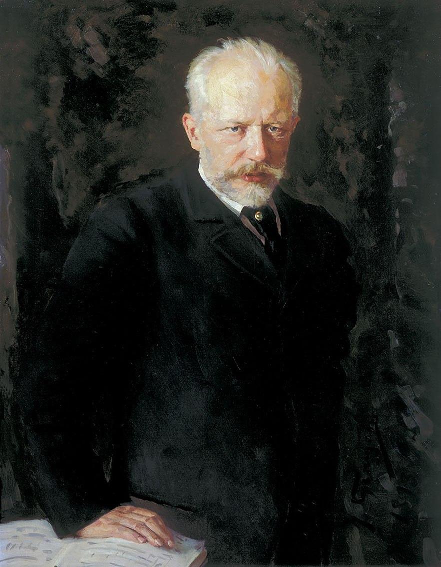 Portr%C3%A4t des Komponisten Pjotr I. Tschaikowski (1840-1893)