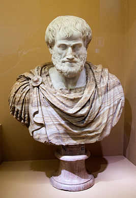 Portrait of Aristotle, set on a restored bust, Colosseum.jpg