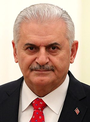Prime Minister of Turkey - Image: Portrait of Binali Yıldırım (cropped)