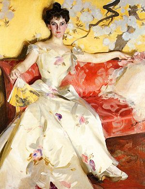 Henry Adams - Portrait of Elizabeth Sherman Cameron (1900) by Anders Zorn