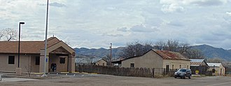 Arivaca, Arizona - The post office and the former stagecoach depot in Arivaca.