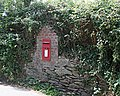 Postbox at Fiddler's Green - geograph.org.uk - 215996.jpg