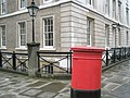 Postbox by Paper Buildings - geograph.org.uk - 765094.jpg