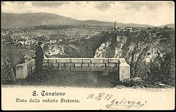 Postcard of Škocjan 1903.jpg