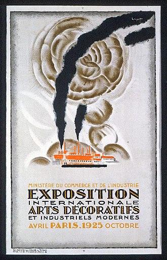 Années folles - Paris Expo 1925