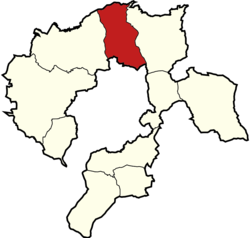 Gmina Bestwina within the Bielsko County