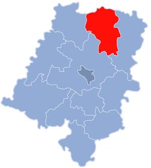 Kluczbork County - Image: Powiat kluczborski