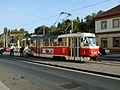 Praha, Břevnov, Malovanka, tramvaj T3.JPG