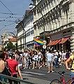 Praha, Staré Město, Prague Pride 2012, Smetanovo nábřeží.jpg