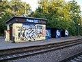 Praha-Strašnice zastávka, nástupiště směr Benešov.jpg