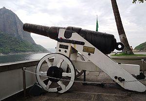 70-pounder Whitworth naval gun - Image: Praia vermelha canhao whitworth 70 lb