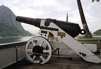 70-pounder Whitworth naval gun - Image: Praia vermelha canhao whitworth 70 lb