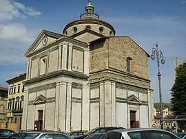 Kyrkan Santa Maria delle Carceri