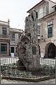 Praza de Baiona e escultura conmemorativa da chegada da carabela La Pinta - Galiza-2.jpg