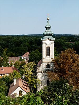 Transfiguration Church, Szentendre - Image: Preobrazsenszka templom (7338. számú műemlék)