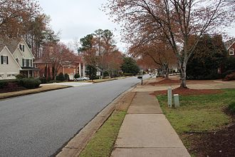 Johns Creek, Georgia - A subdivision in Johns Creek