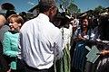 President Obama visits Krün in Bavaria IMG 1256 (18478258440).jpg