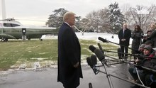 File:President Trump Delivers a Statement Upon Departure January 14, 2019.webm