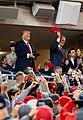 President Trump at the World Series Game (48975048522).jpg
