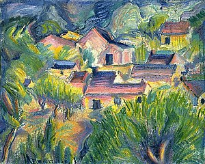 Houses and Landscape